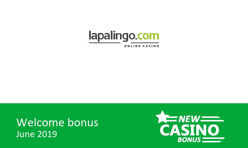 Lapalingo Casino bonus offer, 200% up to 400€ in bonus, 1st deposit bonus