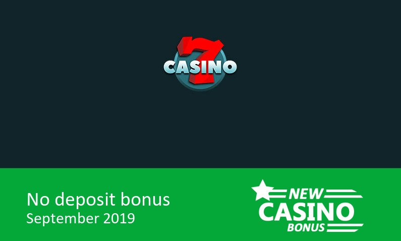 Latest bonus before deposit from 7Casino