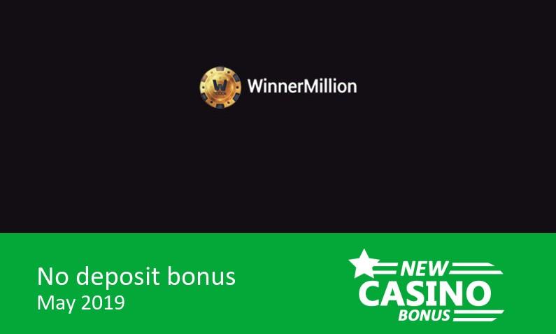 Latest bonus upon sucessfull completion of registration from Winner Million Casino