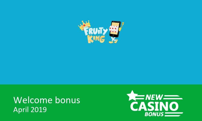 Latest Fruity King Casino Bonus 200 Up To 50 In Bonus 1st