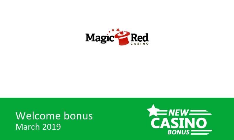 Latest Magic Red Casino Promotion 200 Up To 500 In Bonus 100 Bonus Spins 1st Deposit Bonus New Casino Bonus