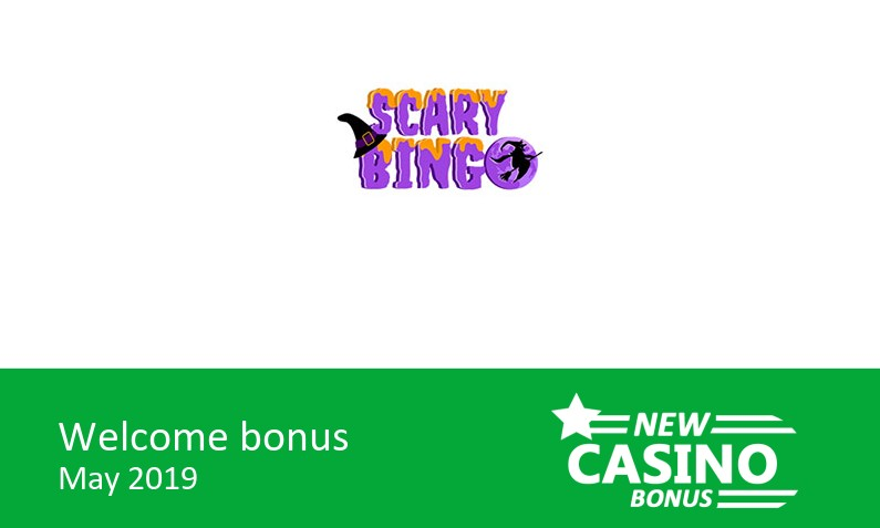 Latest Scary Bingo Casino  – 150% bingo bonus & 150% game bonus up to 105£, 1st deposit bonus