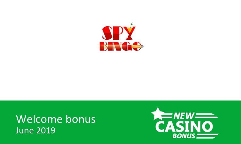 Latest Spy Bingo Casino bonus – 150% bingo bonus & 150% game bonus up to 105£, 1st deposit bonus