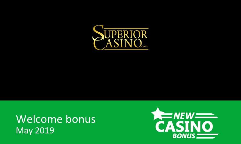 Latest Superior Casino bonus offer ⇨ 180% match bonus + 100 bonus spins, 1st deposit bonus