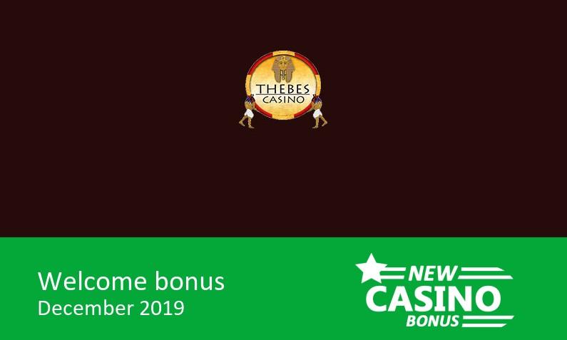 Latest Thebes Casino offers ⇨ 200% up to 2000$/€ in bonus + 30 bonus spins, 1st deposit bonus