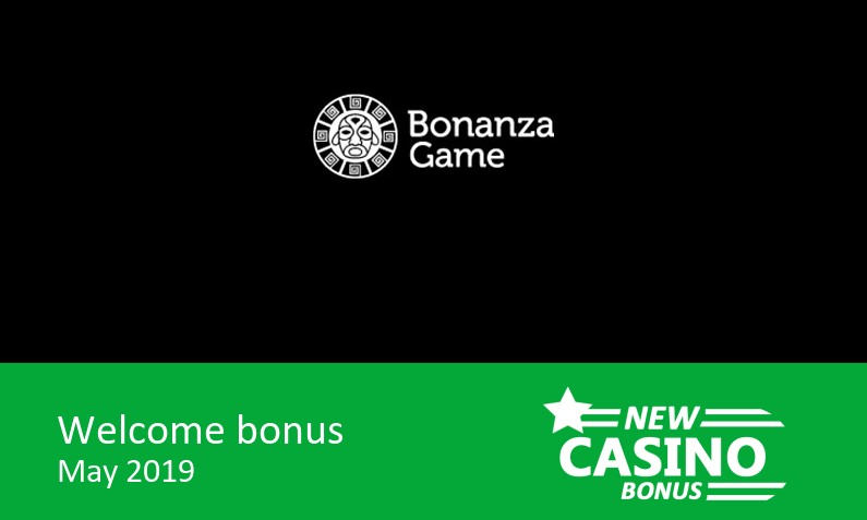 New Bonanza Game Casino promotion, 150% up to 150€ in bonus + 100 bonus spins with no wager req (20 per day for 5 days), 1st deposit bonus