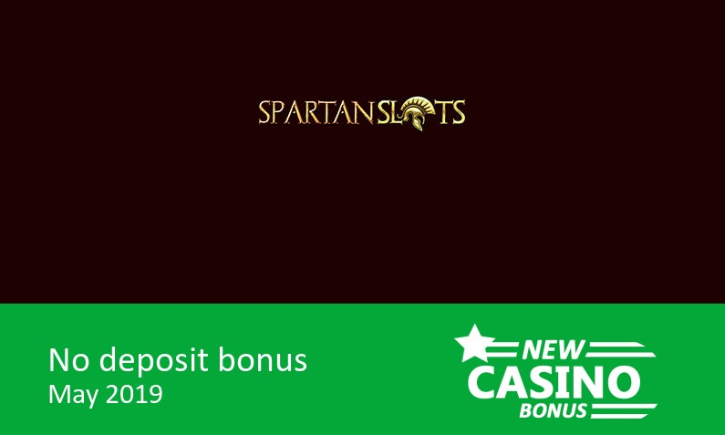 New bonus on sign up from Spartan Slots Casino