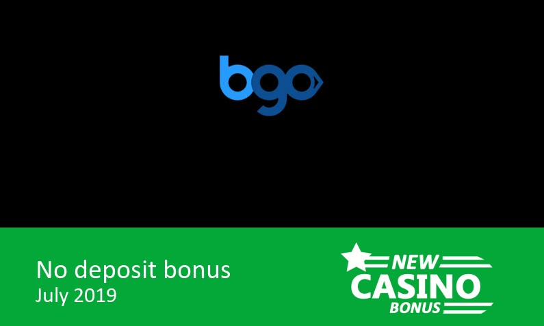 New bonus upon sucessfull completion of registration from Bgo Casino