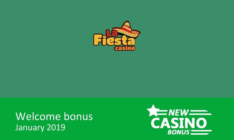 New Casino La Fiesta Gives 400 Up To 1000 In Bonus 1st Deposit