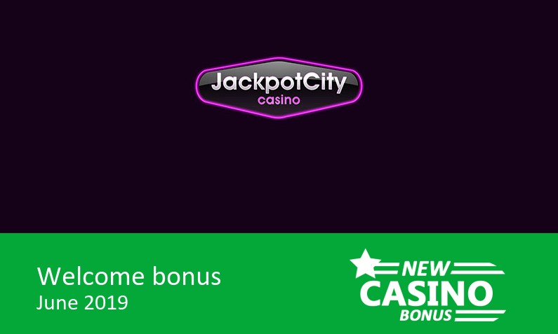 New Jackpot City Casino gives 100% up to 400€ in bonus, 1st deposit bonus