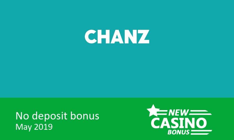 New no deposit sign up bonus from Chanz Casino
