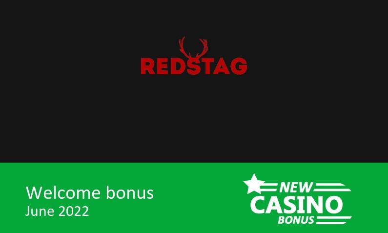New Red Stag Casino offering 275% up to 550$ in bonus + 100 bonus spins, 1st deposit bonus