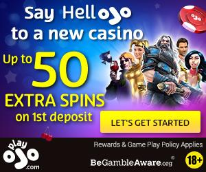 Latest bonus from Play Ojo Casino