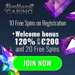 Latest bonus from Rembrandt Casino