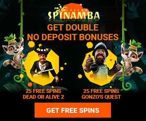 Latest bonus from Spinamba